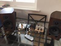 Fatman iTube MkII and Warfdale Diamond 9.1 Speakers