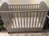 Ikea Cot GONATT Light grey