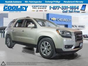 2014 GMC Acadia SLT2/ SUNROOF/ REMOTE START/ HTD&COOLED SEATS