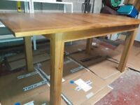 Solid Wood Extending Dining Table In Great Condition