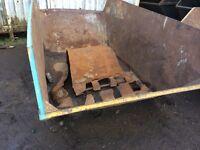 Skip repair & refurbishing .