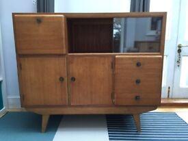 1950's Vintage Wood Sideboard