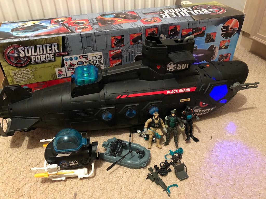 Soldier Force Submarine