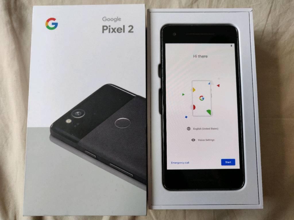 Google Pixel 2 64GB Unlocked - Just Black | in Batley, West Yorkshire |  Gumtree