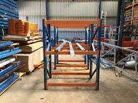 Heavy Duty Industrial Carpet Pipe Plumbers Ducting Wood Storage Racking