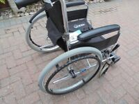 Great condition Orbus Leisure Self Propelled Aluminium Wheelchair