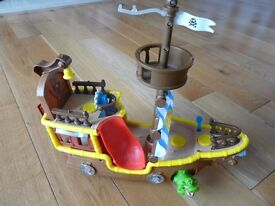 Disney Jake And The Neverland Pirates Ship