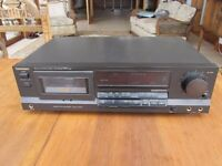 Technics RS-BX404 Stereo Cassette Deck, in good condition.