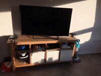 Ikea TV unit-light brown