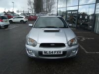 2004 54 SUBARU IMPREZA 2.0 WRX TURBO 4D 224 BHP **** GUARANTEED FINANCE **** PART EX WELCOME