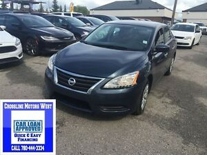 2015 Nissan Sentra S LOW LOW PAYMENTS AS LOW AS $89 B/W
