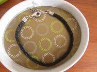Chamilia Black Braided Bracelet