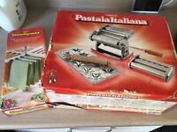 Imperia Pasta Machine and drying rack