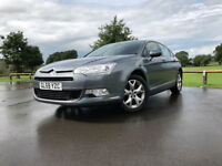 Citroen C5 1.6 VTR+ Sat Nav 155HP. Cruise control, 6 Gears,new tyres,battery Long MOT