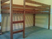 Single Pine Cabin Bedframe