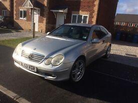 For sale Mercedes c180k auto