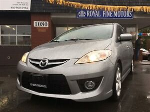 2010 Mazda MAZDA5 GT,Leather,Navi,Sunroof,6Seater,Alloys,ExtraCl