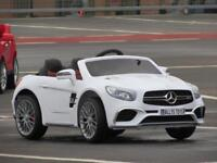 Merc SL65 ride on cars with parental controls brand new