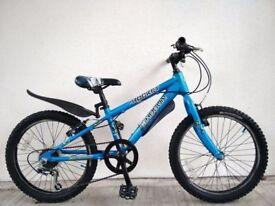 "FREE Lights (2660) 20"" Lightweight Aluminium SHOGUN BOYS MOUNTAIN BIKE BICYCLE; Age: 6-9, 120-135 cm"