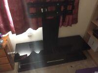 Gloss black TV Stand.