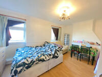 Extra large double room to rent in Zone -2 @ Devans Road DLR station.