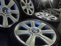 "17"" genuine bmw Alloys Wheels 3 1 e36 e46 Series Vw T5 transporter Vauxhall Vivaro traffic"