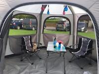 Vango Airhub Hex Utility and Party Tent.