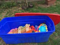 Toys & box
