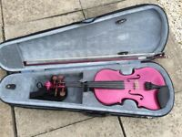 Violin 3/4 Stentor Harlequin deep purple, good condition