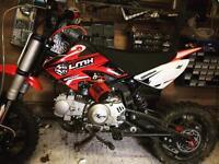 LMX 125cc 4 stroke pit bike