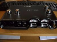 Line 6 UX2 POD audio interface modelling interface