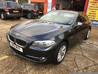 2011 BMW 520D SE AUTOMATIC FULL CREAM LEATHERS FULL SERVICE HISTORY VERY CLEAN