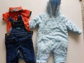 Baby boys clothes 0-3 months (ted baker / mini club)