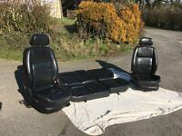 VW Golf MK4 leather seats
