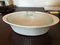 Corningware French White Stoneware