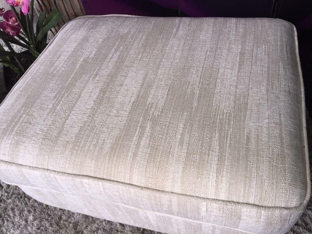 Furniture Village G Plan furniture village g plan storage footstool natural fabric | in