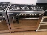 Baumatic Dual Fuel Range Cooker. 90cm width. 3 months warranty