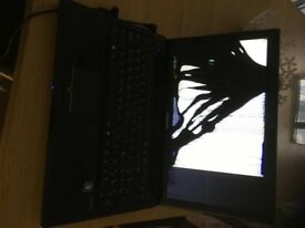 medion e6313 laptop amd dual core cracked screen for parts
