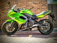 Kawasaki ER-6F low mileage