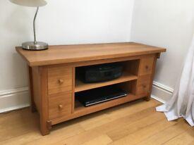TV table/Sideboard in solid Oak