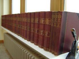 11th Edition Encyclopaedia Britannica 1911 - 32 Volumes