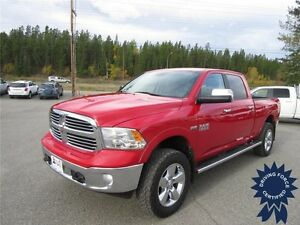 2014 Ram 1500 Big Horn 4x4 - 6 Seater, Chrome Trim, 39,122 KMs