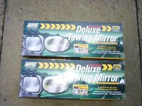2 Maypole deluxe towing mirrors