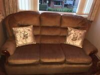 3 piece suite (Sofa/Couch) - 3 seater and 2x single