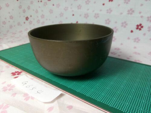 """3.484""""Japanese Buddhist Bell Zen Gong Rin G654 Good Sound  VTG"""