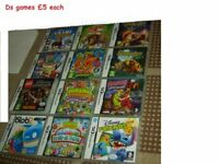 bundle of ds games £5 each game collection from didcot from a smoke and pet free home
