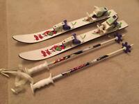 Junior Skis and Poles