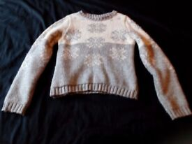 Marks and Spencer Girls Xmas Jumper