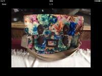 Ladies shoulder bag blue new £5