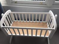 John lewis white crib